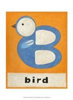 """B is for Bird by Chariklia Zarris - 10"""" x 13"""" - $10.49"""