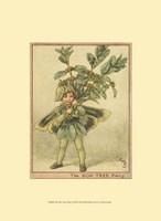 "The Box Tree Fairy by Vision Studio - 10"" x 13"", FulcrumGallery.com brand"