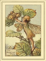 The Hazelnut Fairy Fine Art Print