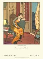 Gazette du Bon Ton III Fine Art Print