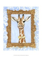 Teacher's Pet - Giraffe Fine Art Print