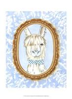 Teacher's Pet - Llama Framed Print