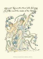 Shakespeare's Garden II (Hyacinth) Fine Art Print