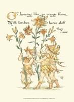 Shakespeare's Garden VIII (Lily) Fine Art Print