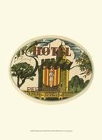 "Vintage Travel Label II by Vision Studio - 10"" x 13"""