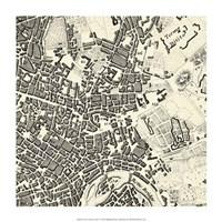 "City of Rome Grid V by Vision Studio - 14"" x 14"""