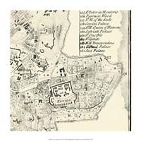 "City of Rome Grid VI by Vision Studio - 14"" x 14"""