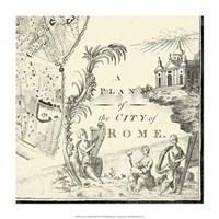 "City of Rome Grid IX by Vision Studio - 14"" x 14"""
