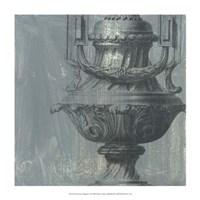 "Decorative Elegance I by Ethan Harper - 14"" x 14"""