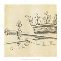 "Decorative Elegance IX by Ethan Harper - 14"" x 14"""