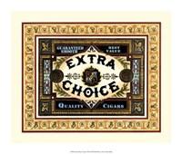 Extra Choice Cigars Fine Art Print