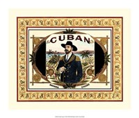 "Cuban Cigars by Vision Studio - 16"" x 14"""