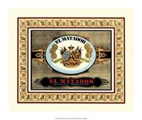 El Matador Cigars Fine Art Print
