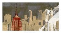 "Modern Metropolis II by Ethan Harper - 26"" x 14"""