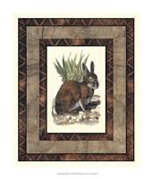 "Rustic Rabbit by Vision Studio - 13"" x 15"""
