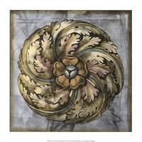 Rosette & Damask III Fine Art Print