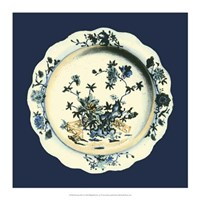 Porcelain Plate I Framed Print