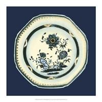 Porcelain Plate II Framed Print