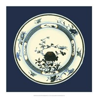 Porcelain Plate III Framed Print