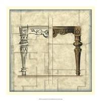 "Furniture Sketch IV by Vision Studio - 16"" x 16"""