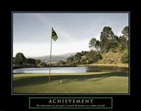Achievement-Golf Commit Yourself Fine Art Print