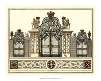 "The Grand Garden Gate I by O. Kleiner - 20"" x 16"""