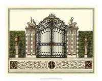 """The Grand Garden Gate II by O. Kleiner - 20"""" x 16"""""""