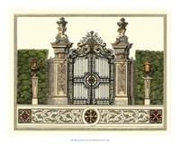 """The Grand Garden Gate III by O. Kleiner - 20"""" x 16"""""""