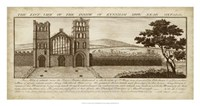 View of Eynsham Abbey Fine Art Print