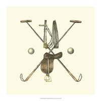 Polo Saddle Fine Art Print