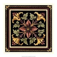 "Decorative Tile Design I by Vision Studio - 17"" x 17"""