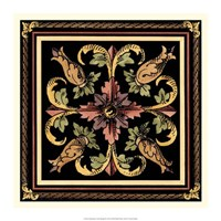 "Decorative Tile Design II by Vision Studio - 17"" x 17"""