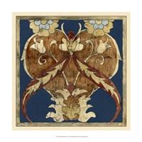 "Vintage Woodblock I by Chariklia Zarris - 17"" x 17"" - $27.99"