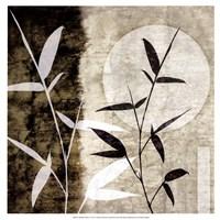 """Bamboo Moon I by Christine Zalewski - 17"""" x 17"""""""