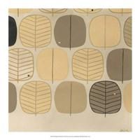 "Woodland Motif II by June Erica Vess - 17"" x 17"""