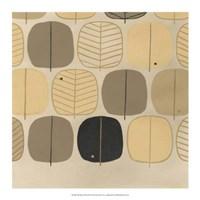 """Woodland Motif III by June Erica Vess - 17"""" x 17"""""""