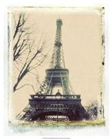 Eiffel View III Fine Art Print
