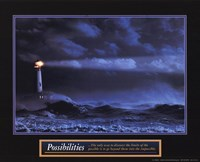 """Possibilities - Lighthouse by Linda Stubbs - 10"""" x 8"""""""