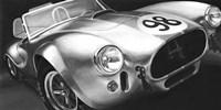 Vintage Racing I Framed Print