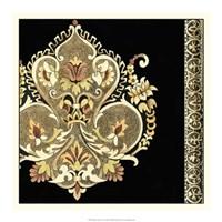 """Regal Adornment II by Chariklia Zarris - 18"""" x 18"""""""