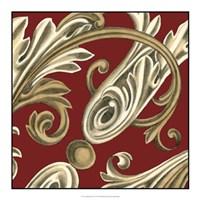 """Elegant Motif I by Ethan Harper - 18"""" x 18"""""""