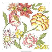 "Bouquet Garden II by Chariklia Zarris - 18"" x 18"""