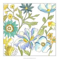 "Bouquet Garden III by Chariklia Zarris - 18"" x 18"""