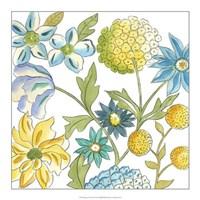 """Bouquet Garden IV by Chariklia Zarris - 18"""" x 18"""""""