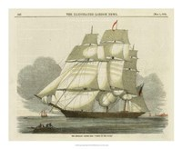 "Antique Clipper Ship II by Vision Studio - 18"" x 18"""