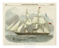 "Antique Clipper Ship III by Vision Studio - 18"" x 18"""