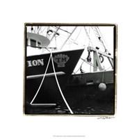 """Fishing Trawler I by Laura Denardo - 18"""" x 18"""""""