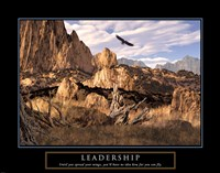 Leadership-Eagle Fine Art Print