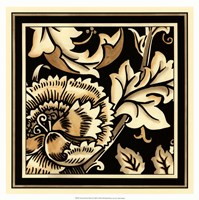 "Neutral Floral Motif III by Vision Studio - 18"" x 18"""
