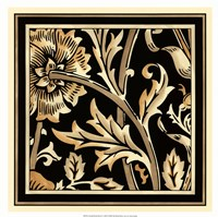 "Neutral Floral Motif IV by Vision Studio - 18"" x 18"""